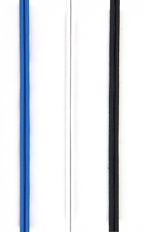 Ibungee (3-Pk ) IB3PWW30 - Cordones de zapatos, color azul real, talla UK: 30 inch