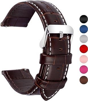 bracelet cuir montre 20mm
