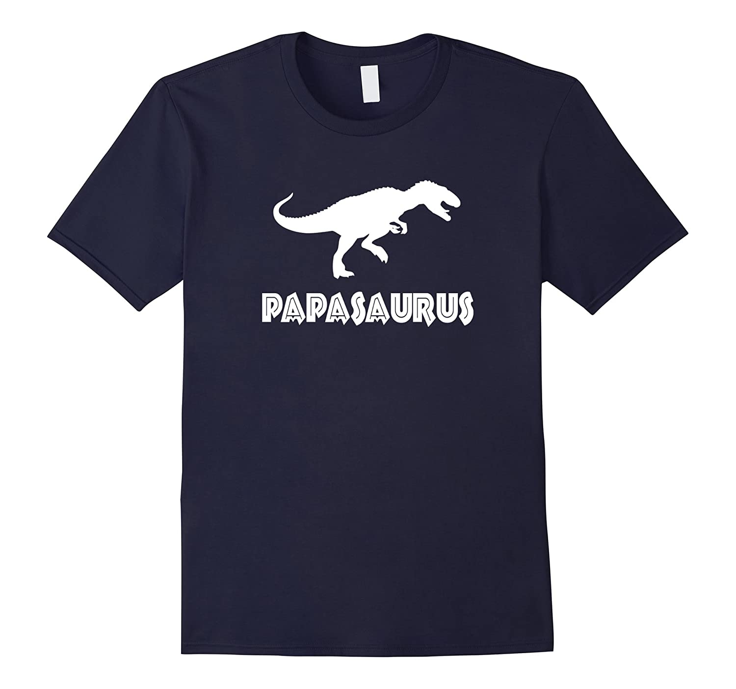 Papasaurus T-Shirt - Great Fathers Day Gift Tee - Unisex-TD