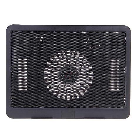 FrndzMart High Performance Super Slim Notebook Cooling Pad  Black Cooling Pads