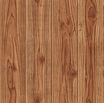 Wallpaper 3d Wooden Tone Design Amazonin Home Kitchen