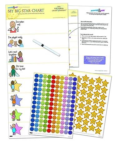 My Big Star-Diagramm, die Kleinkinder-Belohnungstafel ab 2&nbsp ...