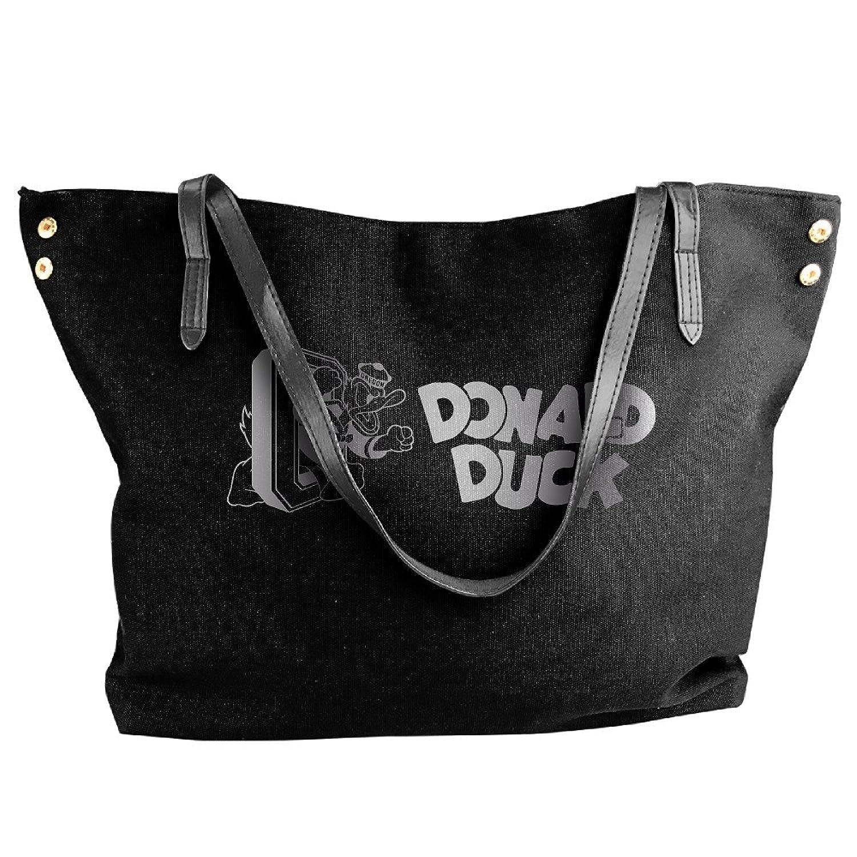 Donald Duck Platinum Logo Women Shoulder Bags