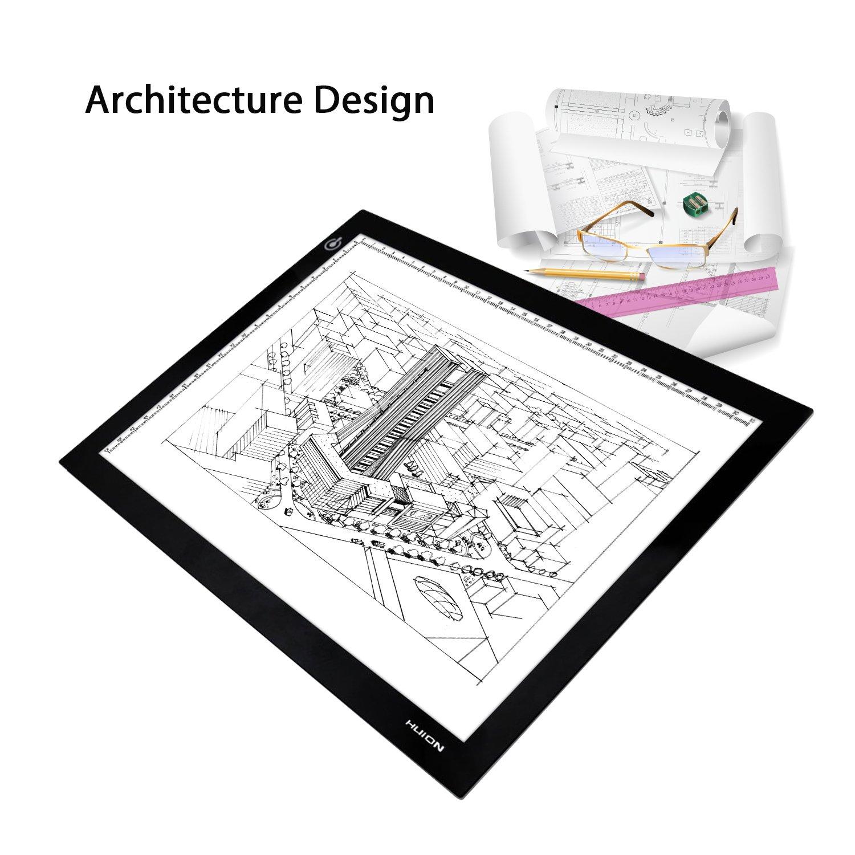 mesa de luz para diseño