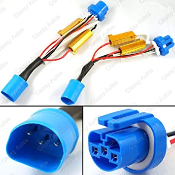 71sorKp0UHL._SY355_ amazon com classy autos 9004 9007 hid conversion kit error free w wiring harness conversion kits at soozxer.org