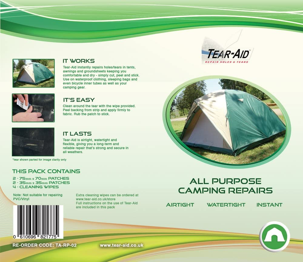 Amazon.it: NASTRO ADESIVO Accessori per tende Camping e