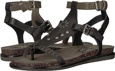 aa7915c3a OTBT Women s Stargaze Flat Sandals - Black - 8