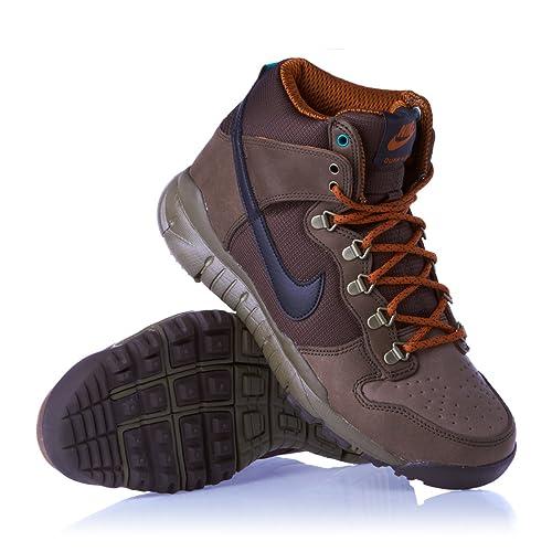 reputable site 5c6ee b7b52 Nike SB Dunk High OMS Mens 536182-202 Baroque Brown 11 M US ...
