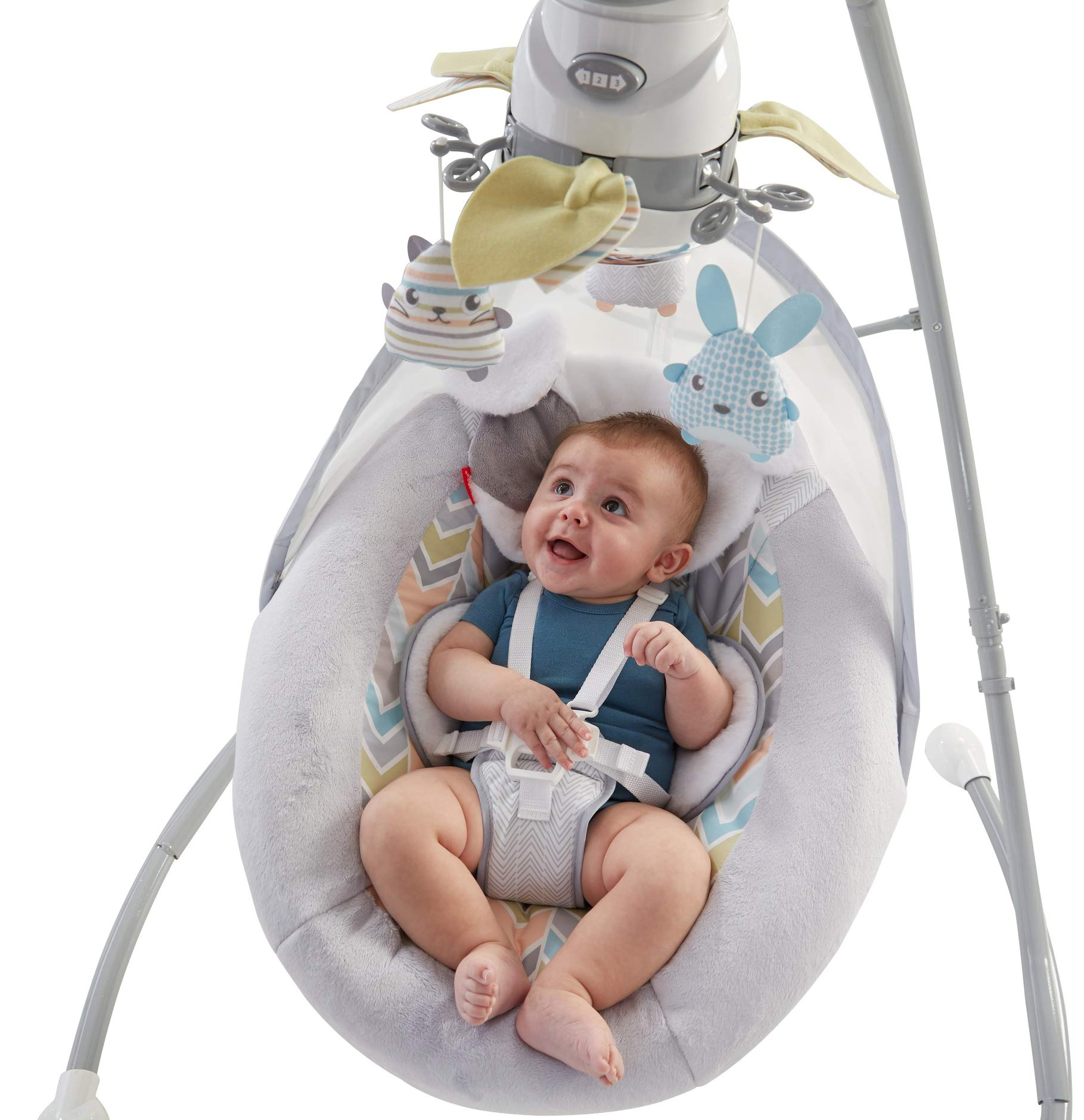 Fisher-Price Sweet Snugapuppy Dreams Cradle 'n Swing by Fisher-Price (Image #2)