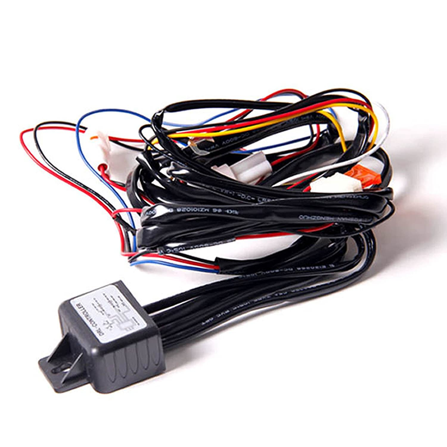 Wadoy LED Daytime Running Light DRL Relay Harness Automatic On Off Control