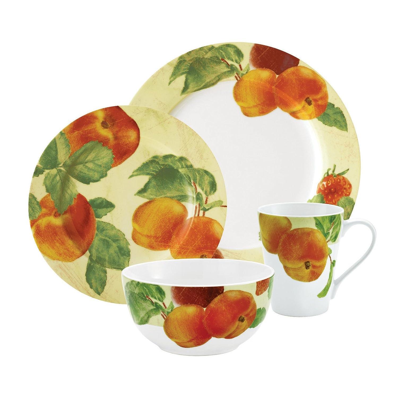 Paula Deen Georgias Bounty 4-Piece Cereal Bowl Set Meyer 58193
