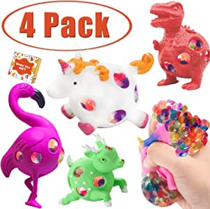 Amazon.com: Randosk 4Pack Fidget Sensory Toys Mesh Stress ...