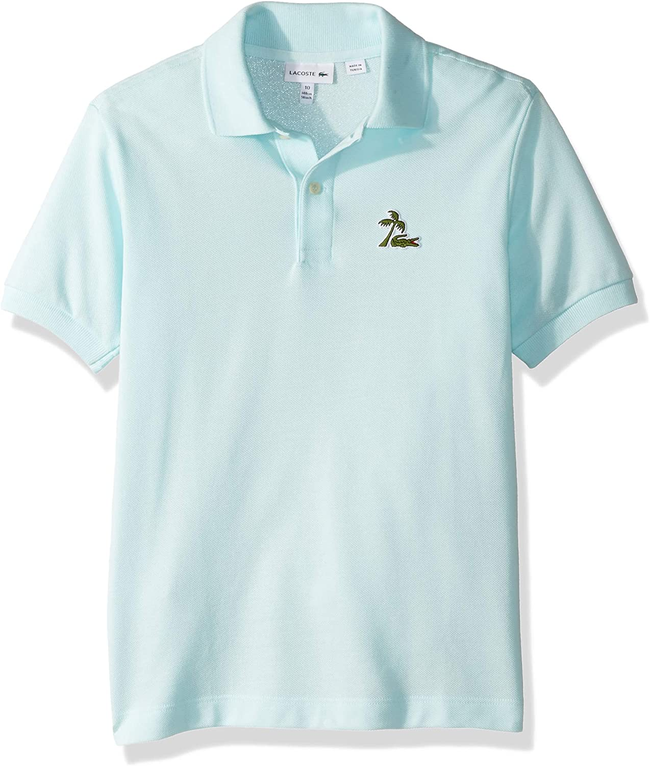 Lacoste Boy Mini Me Palm Tree Croc Polo - Azul - 5 Años: Amazon.es ...