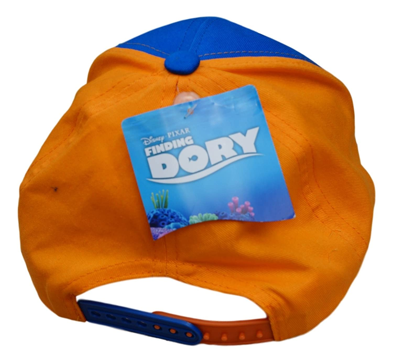 0bd9d2500ffec Amazon.com  Kids Disney Pixar Finding Dory Blue Baseball Cap With Adjustable  Strap  Clothing