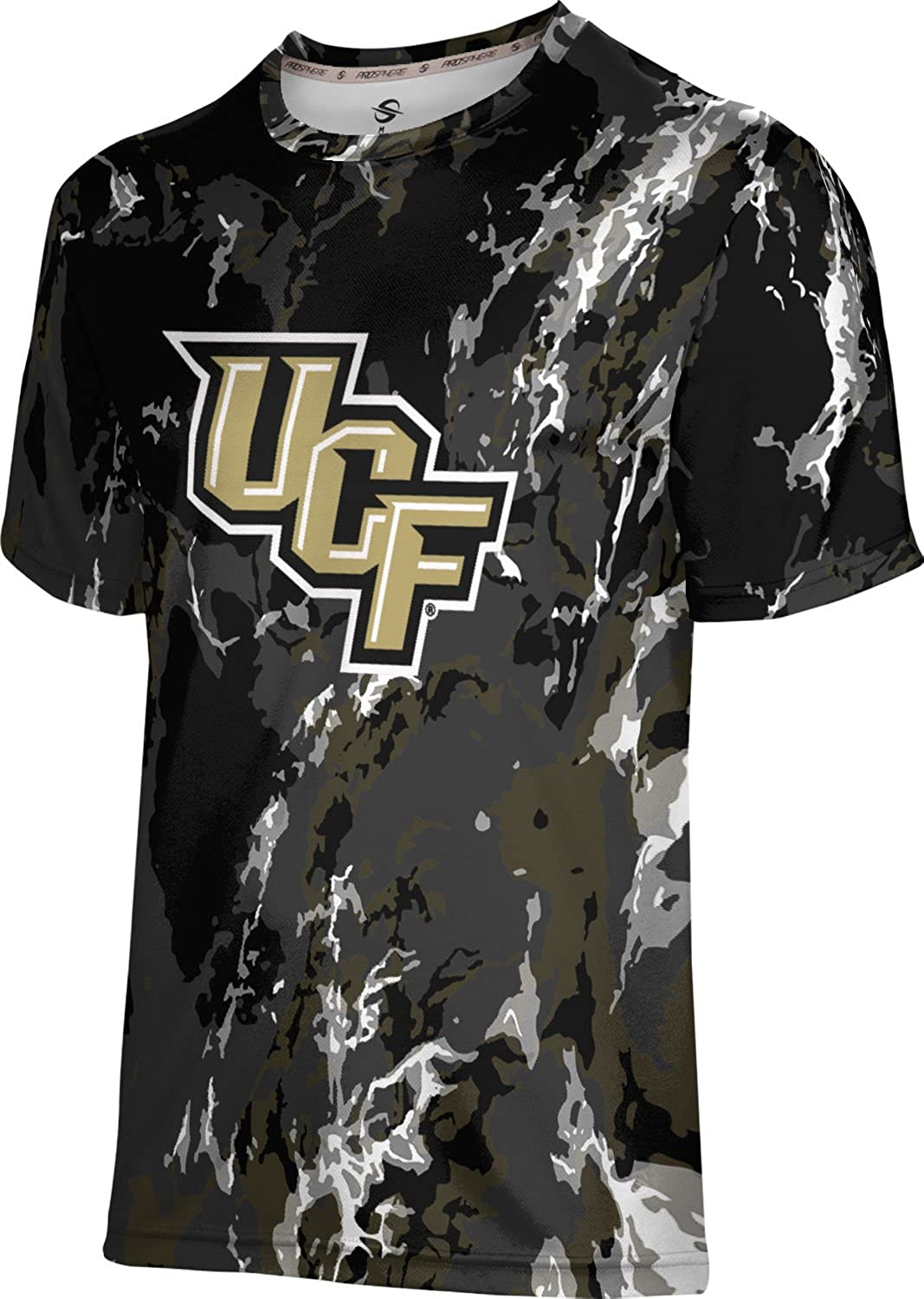 ProSphere University of Central Florida Mens Long Sleeve Tee Topography