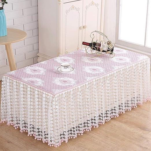 Mantel- Cubierta de la Mesa de café Diseño de la Falda Mantel a ...