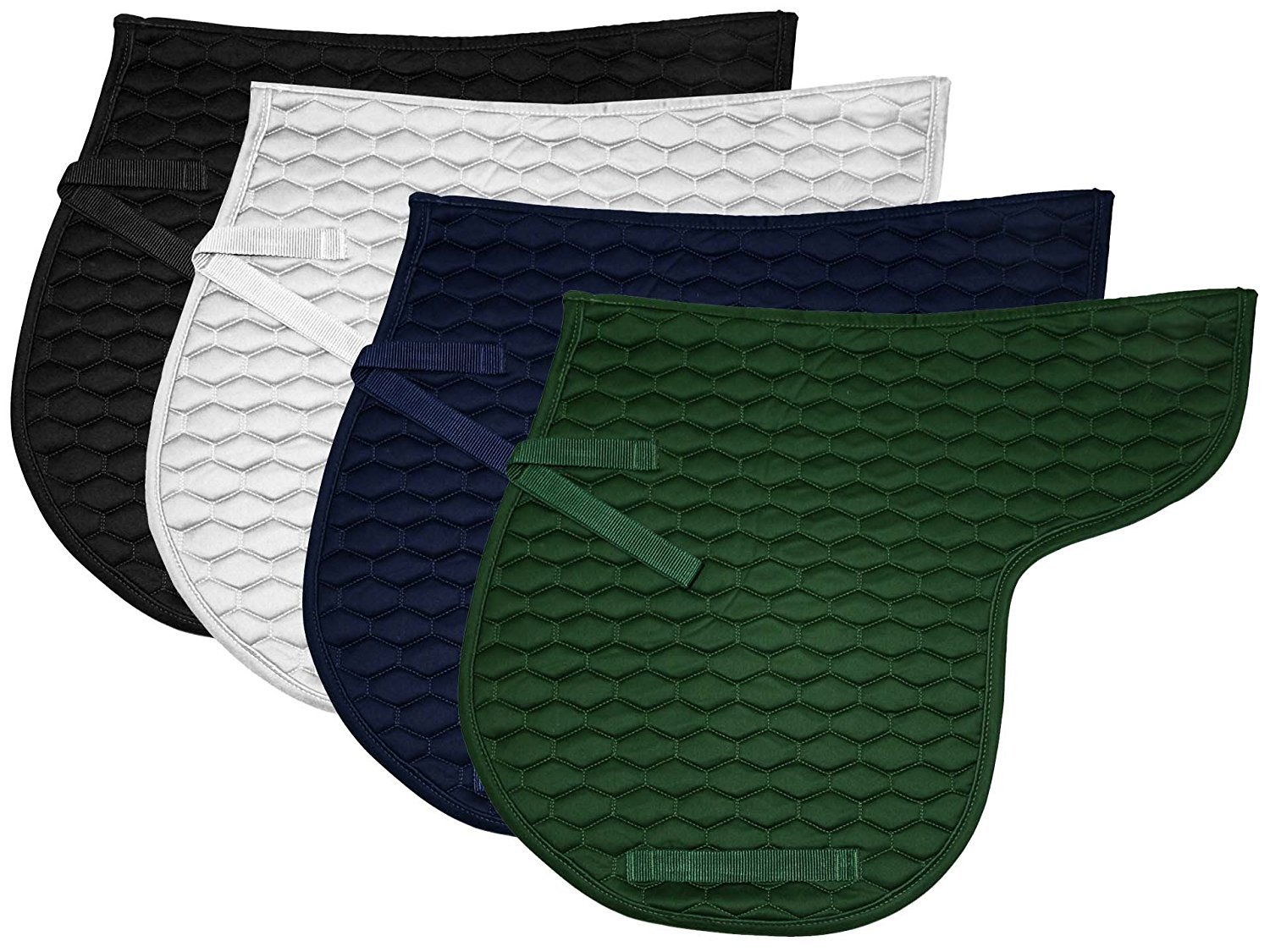 Navy Derby Originals English All Purpose Quilted Contour Saddle Pad