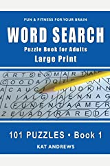 Word Search Puzzle Book for Adults: Large Print 101 Puzzles – Book 1 (Large Print Word Search) Paperback