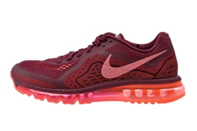 Nike Mens Air Max 2014 Athletic Running Shoes Red Orange