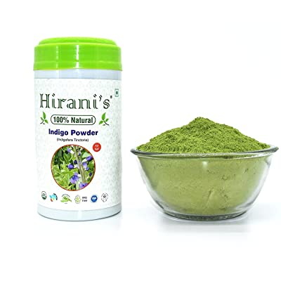100% Natural Indigo Powder for Hair Color 227 / 0.5 LB (Indigofera Tinctoria)