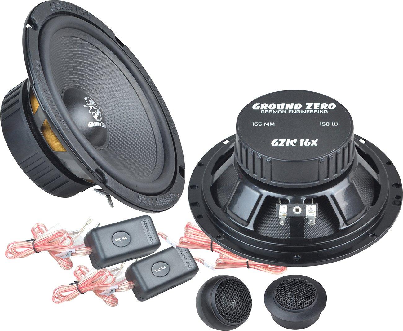 Ground Zero GZIC 16X - 16cm Lautsprecher System
