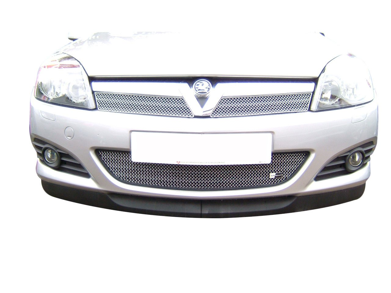 2005 onwards 3 door SXi diesel model Silver finish Zunsport Astra Front Grille Set