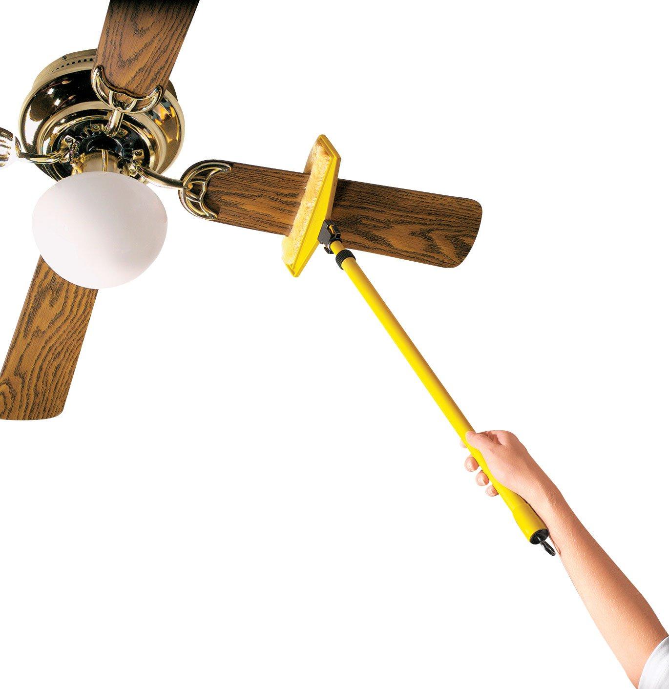Amazon.com: Miles Kimball Yellow Ceiling Fan Duster: Health ...