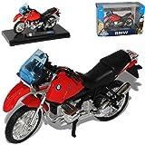 BMW R1100 Gs R 1100 R1100gs Rot Schwarz 1/18 Welly Modellmotorrad Modell Motorrad