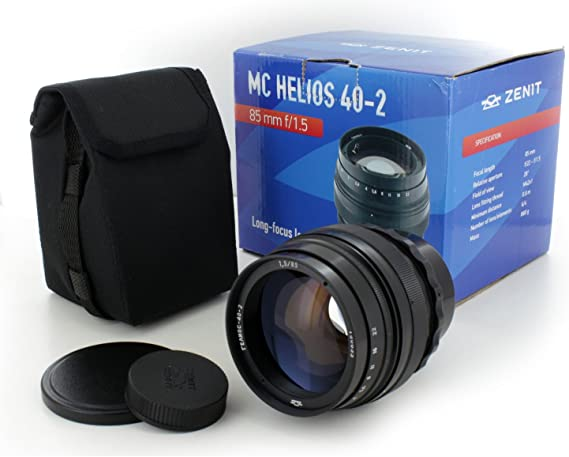 Amazon Com Russian Soviet Helios 40 2 85mm F 1 5 Best Portrait Manual Lens For Canon Eos Slr Dslr Camera New Camera Lenses Camera Photo