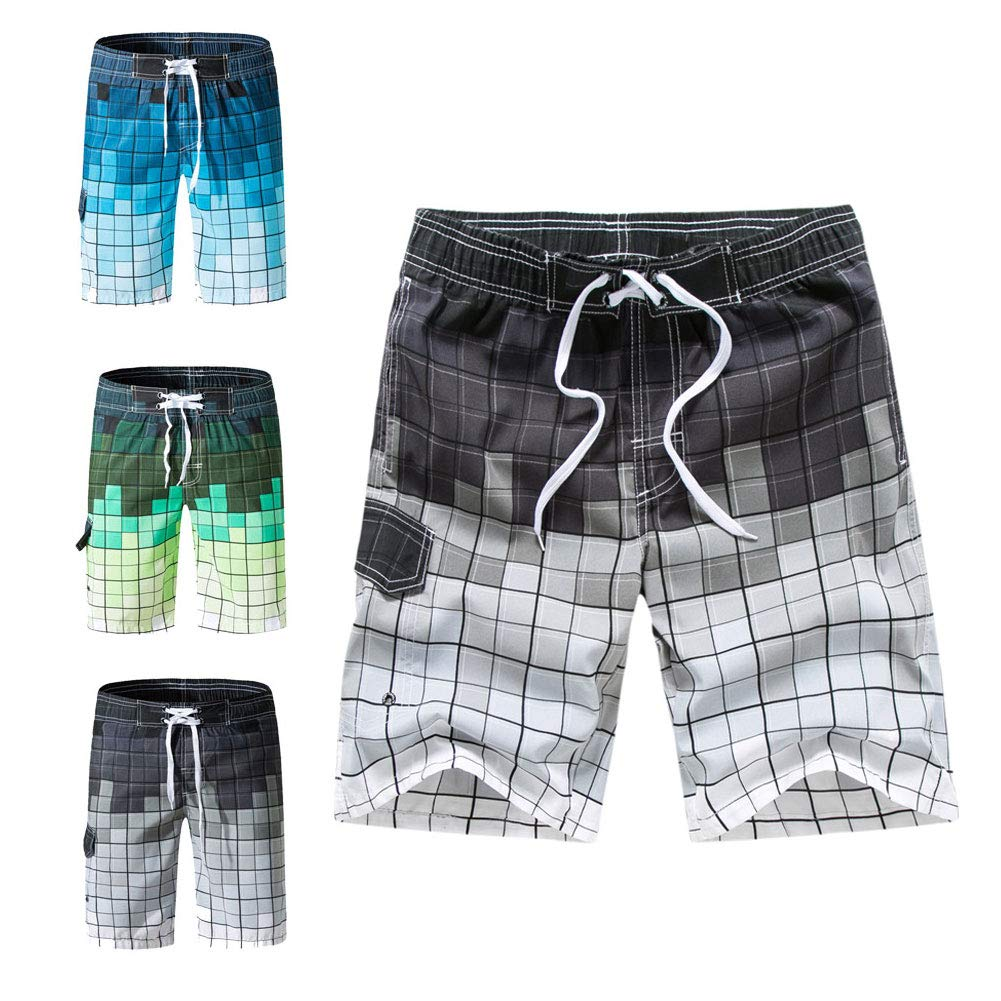 Ophestin Mens Quick Dry Swim Trunks