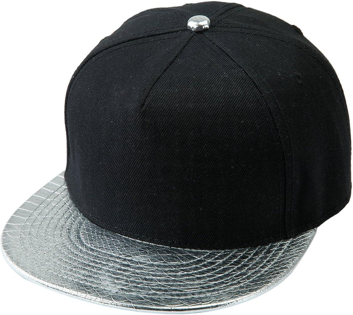 Shanxing Snapback Cap Hip Hop M/ütze Baseball Kappe f/ür Herren und Damen