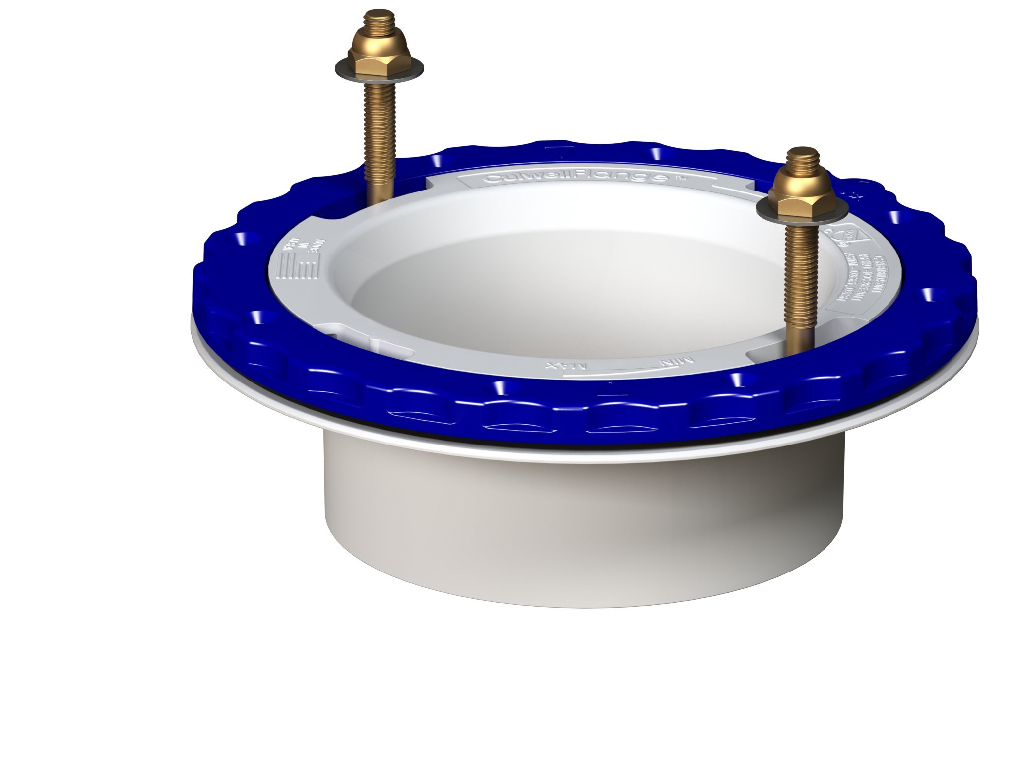 Culwell P4 Floor Protecting Toilet Flange, 4''