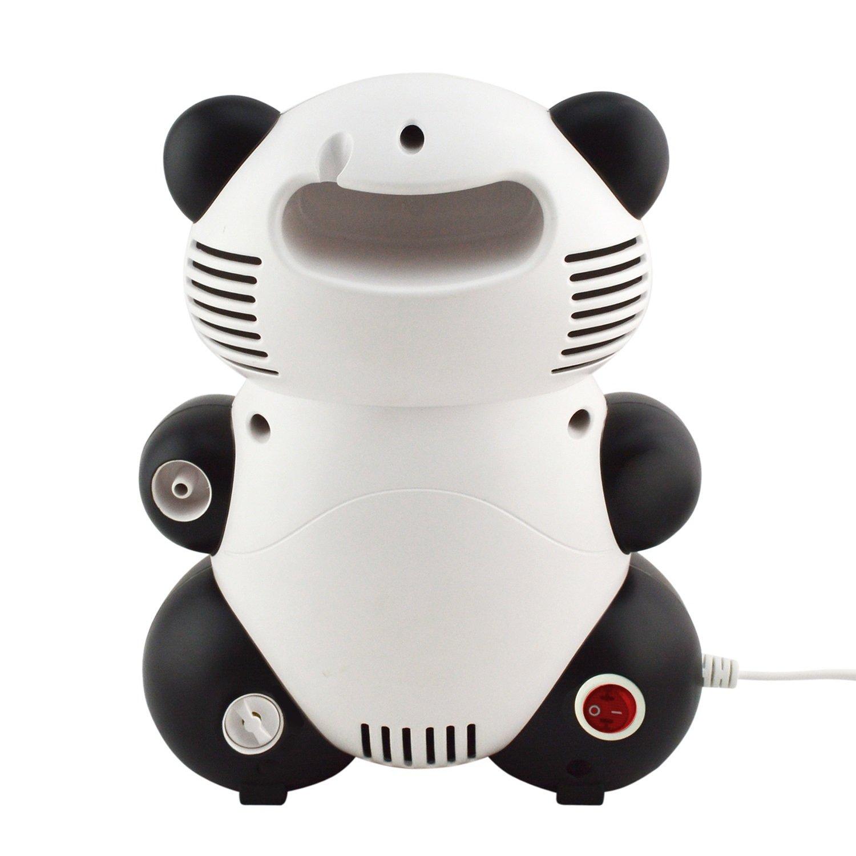 Promedix PR-812 - Nebulizador compresor de aire, Panda sonriente para niños: Amazon.es: Bebé