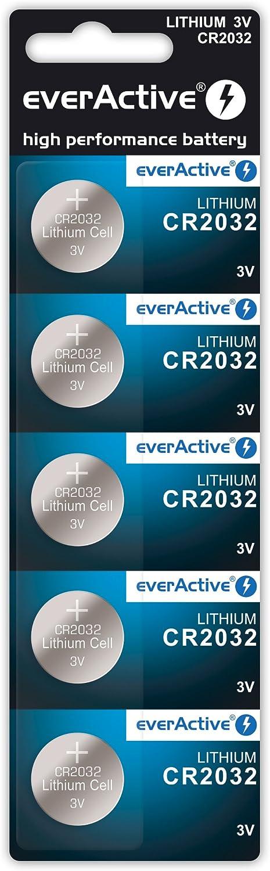 Everactive Cr2032 3v 5x Lithium Knopfzelle Batterien Kamera