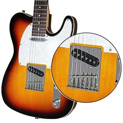 domybest cromo 6 cuadrado soporte de sillines puente para 6 cuerdas Guitarra Fender Telecaster TL Tele
