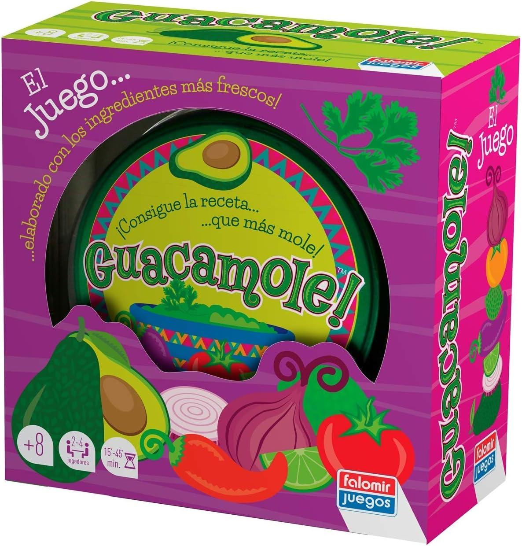 Falomir Guacamole. Juego de Mesa. Cartas, Multicolor (1): Amazon ...