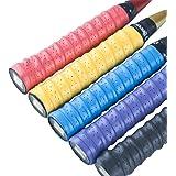 Senston Surgrips Overgrips Raquette de Tennis et Raquette de badminton Anti Slip perforé super absorbante Grips