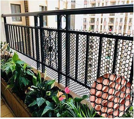 Red de seguridad para jardín para niños, balcón, red de seguridad para gatos, transparente, agujero negro, 0,8 cm, tamaño: 1 m x 20 m, 1mx15m: Amazon.es: Hogar