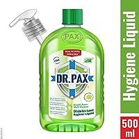 DR. PAX Double Power Multipurpose Disinfectant Hygiene Liquid, 500 ml (Refreshing Lime)