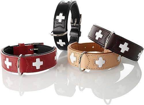 HUNTER-Hundehalsband-mit-hochwertigem-Leder