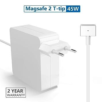 Rytaki Compatible con Cargador MacBook, Cargador MacBook Air, 45W Magsafe 2 Adaptador de Corriente para MacBook Air 11