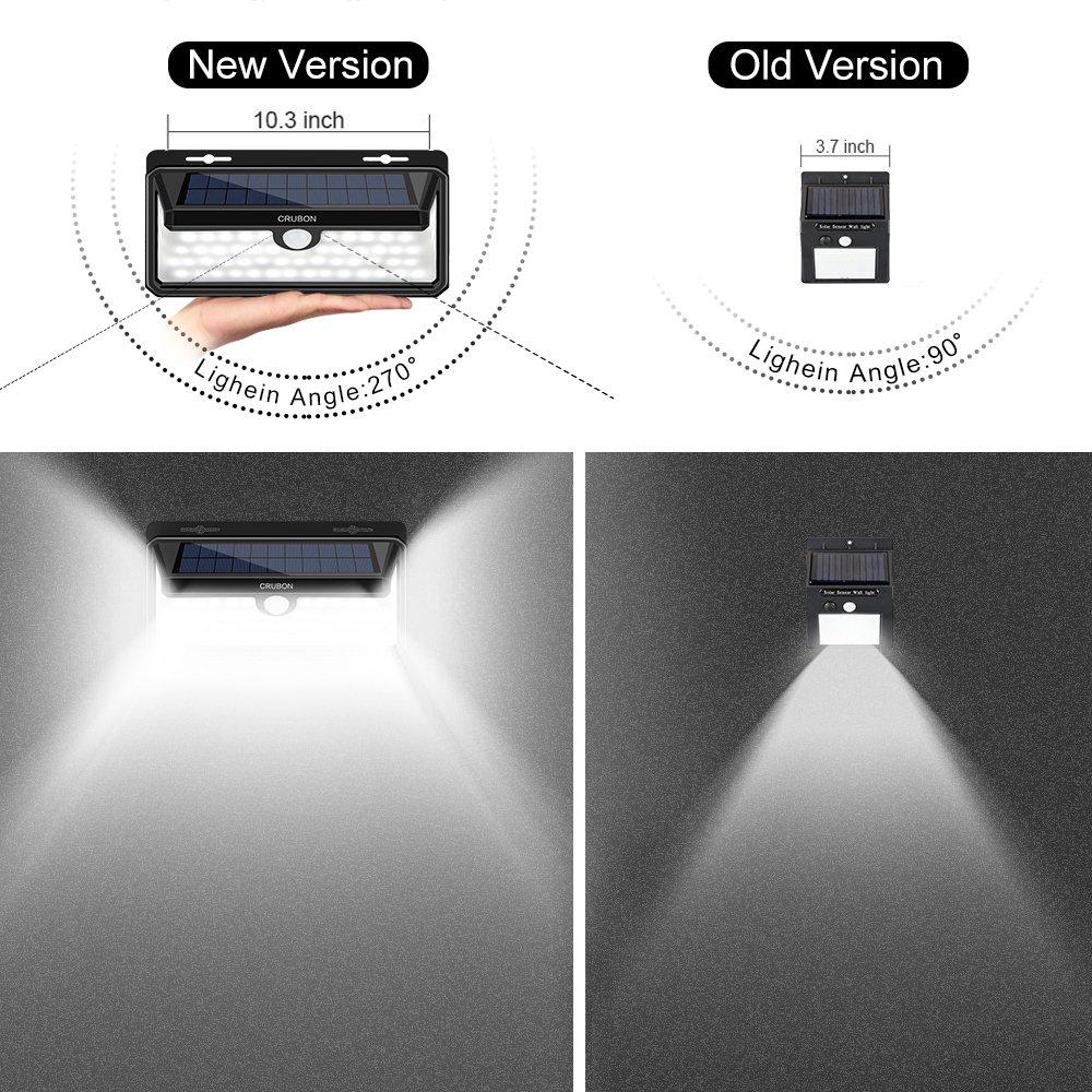 Decken- & Wandleuchten Beleuchtung 100 Led Solar Gart Festsetzung Der Preise Nach ProduktqualitäT 【erweiterte Version】baxia 2000lm Solarlampen Für Außen