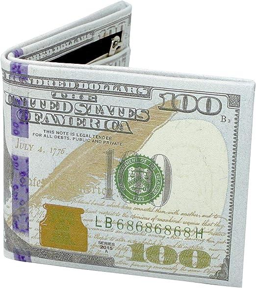 Cartera Billete de 100 dólares Nuevo diseño: Amazon.es: Hogar