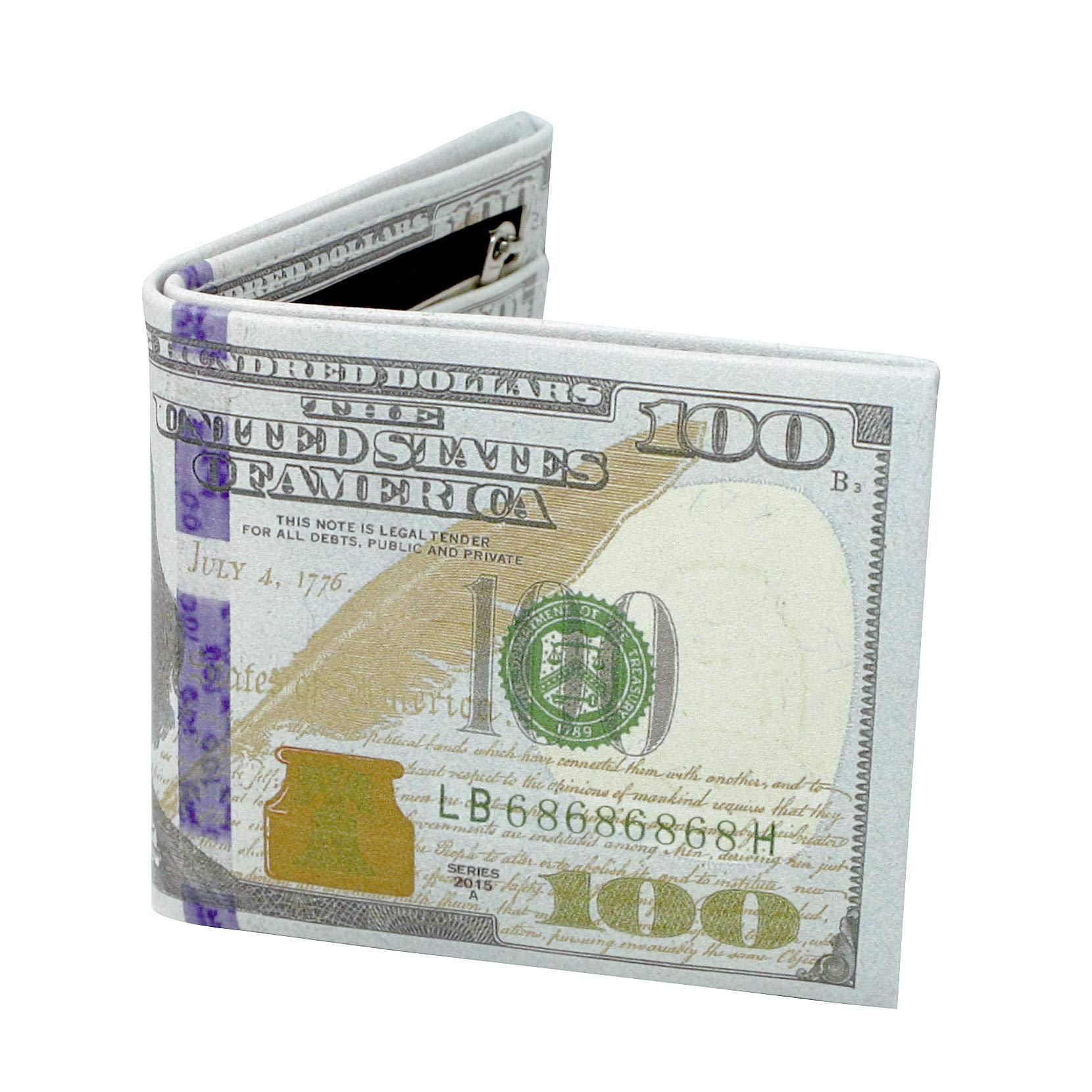 Close Up Dollar Bill Wallet