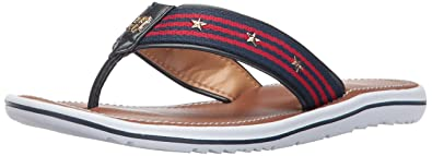 d889cd605979 Tommy Hilfiger Women s Gabora Flat Sandal