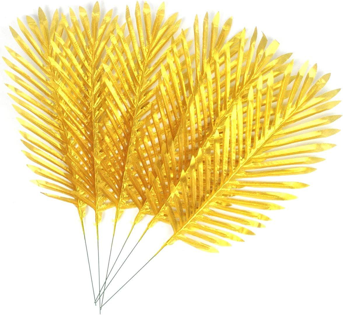 Amazon Com Golden Palm Fronds Tropical Palm Leaves Palm Tree Leaves Artificial For Wedding Party Decoration 27 2 Gold Palm Leaves Home Kitchen Tropical leaves and gold flowers seamless beige vector. golden palm fronds tropical palm leaves palm tree leaves artificial for wedding party decoration 27 2 gold palm leaves