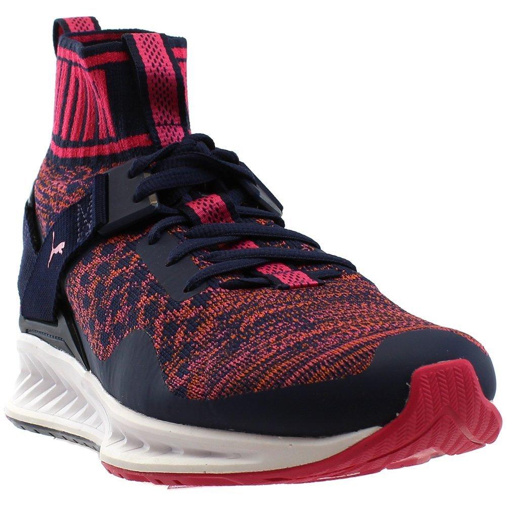 PUMA Women's Ignite Evoknit WN's Cross-Trainer Shoe, Peacoat-Sparkling Co, 8.5 M US