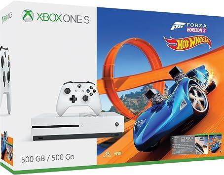 $25  Gift Card Forza Horizon 3 Hot Wheels Bundle/ Xbox One S 500GB Console
