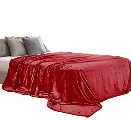 Amazon Com Aidear 100 Super Soft Blankets King Size 350gsm