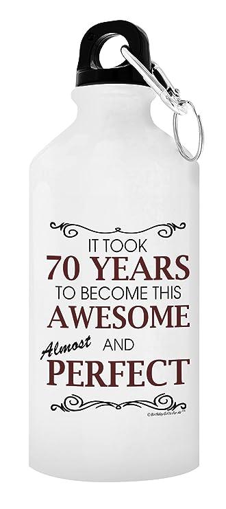 Amazon.com: 70th regalos de cumpleaños para todos los llevó ...